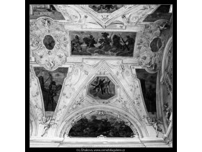 Z Valdštejnské zahrady (2946-4), Praha 1964 červen, černobílý obraz, stará fotografie, prodej