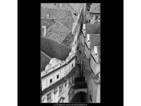 Ústí Melantrichovy ulice (2976-9), Praha 1964 červen, černobílý obraz, stará fotografie, prodej