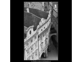 Ústí Melantrichovy ulice (2976-14), Praha 1964 červen, černobílý obraz, stará fotografie, prodej