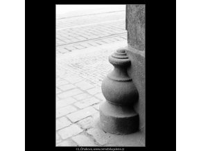 Patník (2978-3), Praha 1964 červen, černobílý obraz, stará fotografie, prodej