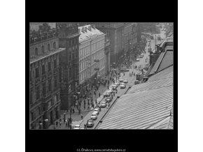Na Příkopech (2986-1), Praha 1964 červen, černobílý obraz, stará fotografie, prodej