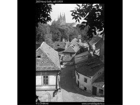 Nový Svět (283), Praha 1959 září, černobílý obraz, stará fotografie, prodej