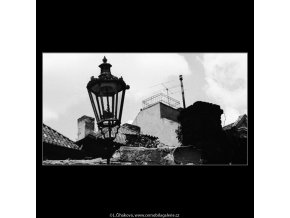 Stará lucerna (2995), Praha 1964 červen, černobílý obraz, stará fotografie, prodej