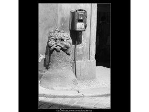 Patník (3058-3), Praha 1964 červenec, černobílý obraz, stará fotografie, prodej