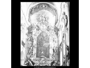 Chrámu sv.Jakuba (3079-2), Praha 1964 červenec, černobílý obraz, stará fotografie, prodej