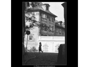 Z Kampy (3172), žánry - Praha 1964 září, černobílý obraz, stará fotografie, prodej