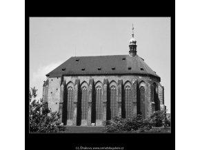 Kostel Panny Marie Sněžné (3210), Praha 1964 září, černobílý obraz, stará fotografie, prodej