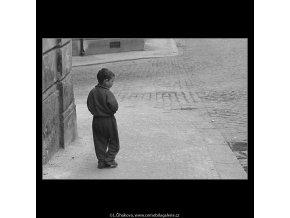 Kluk (3254), žánry - Praha 1964 září, černobílý obraz, stará fotografie, prodej