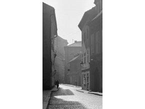 Liliová ulice (3284-1), Praha 1964 říjen, černobílý obraz, stará fotografie, prodej