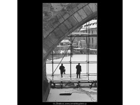 Fotografové (3526), žánry - Praha 1965 březen, černobílý obraz, stará fotografie, prodej