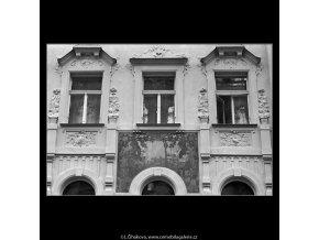 Sgraffita (4711), Praha 1966 srpen, černobílý obraz, stará fotografie, prodej
