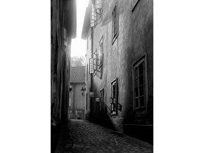 Plakát - Ráno v uličce (1321-1)
