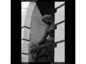 Vltava (3796-2), Praha 1965 červen, černobílý obraz, stará fotografie, prodej