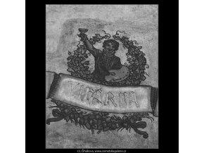Vinárna U malířů (3814), žánry - Praha 1965 červenec, černobílý obraz, stará fotografie, prodej