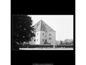 Letohrádek Hvězda (3863-1), Praha 1965 srpen, černobílý obraz, stará fotografie, prodej