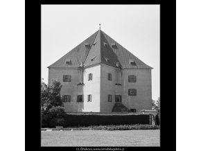 Letohrádek Hvězda (3863-2), Praha 1965 srpen, černobílý obraz, stará fotografie, prodej