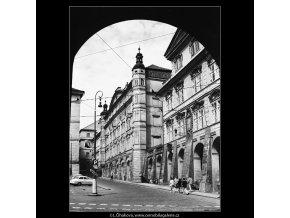 Dům Smiřických a Šternberský palác (3882-1), Praha 1965 srpen, černobílý obraz, stará fotografie, prodej