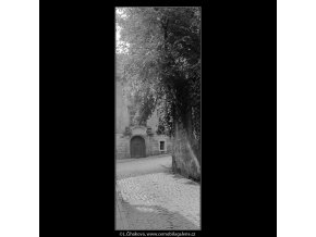 Dům z Jánské ulice (3916), Praha 1965 srpen, černobílý obraz, stará fotografie, prodej