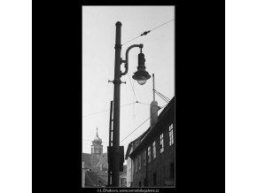 Lucerna a okna (3949), žánry - Praha 1965 září, černobílý obraz, stará fotografie, prodej