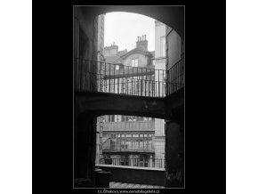 Z pražských Benátek (4199-2), Praha 1965 prosinec, černobílý obraz, stará fotografie, prodej