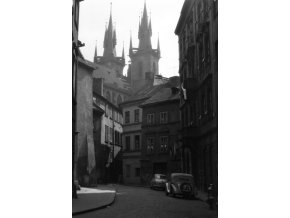 Plakát - Týnská ulice (606-1)