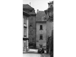 Z Jánského vršku (4583-1), Praha 1966 červen, černobílý obraz, stará fotografie, prodej