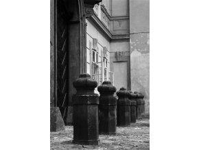 Patníky (4697-1), Praha 1966 srpen, černobílý obraz, stará fotografie, prodej