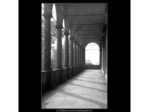 Královský Letohrádek (4867), Praha 1966 říjen, černobílý obraz, stará fotografie, prodej