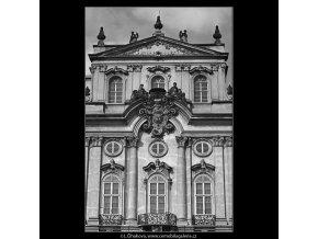 Pražská okna (4892-1), Praha 1966 říjen, černobílý obraz, stará fotografie, prodej