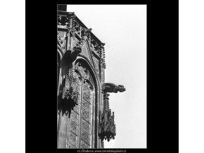 Arkýř (4956), Praha 1966 říjen, černobílý obraz, stará fotografie, prodej