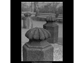Patníky (4986), Praha 1966 prosinec, černobílý obraz, stará fotografie, prodej