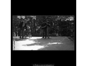 Ve Stromovce (4720-2), žánry - Praha 1966 srpen, černobílý obraz, stará fotografie, prodej