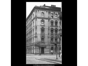 Domy před zbouráním či rekonstrukcí (5196-1), Praha 1967 březen, černobílý obraz, stará fotografie, prodej