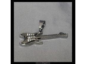 Přívěsek Kytara Rock Star