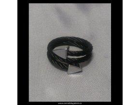 Prsten Lanko Double black