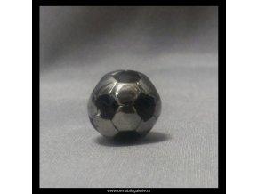 Přívěsek Fotbal míč černý L