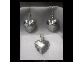 Souprava Srdce diamant