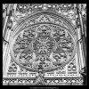 Růžice katedrály sv.Víta (2087-3), Praha 1963 duben, černobílý obraz, stará fotografie, prodej