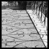 Mříže z Vrtbovské zahrady (2268-10), Praha 1963 červen, černobílý obraz, stará fotografie, prodej