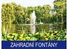Čerpadla pro zahradní fontány