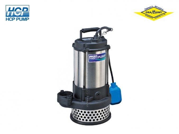 Lehké drenážní čerpadlo na odpadní vody HCP AL-23NF 2,2kW 400V s plovákem  Výtlačné hrdlo: 50mm