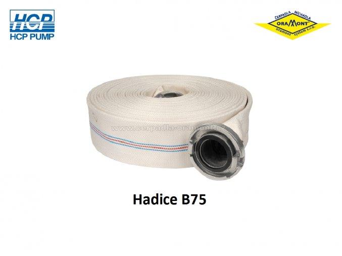 Plochá hadice B75 pro kalová a drenážní čerpadla HCP