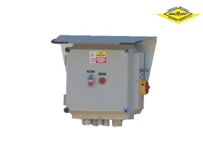 Ovládací skříň pro čerpadla PO, POR a míchadla MO, MON