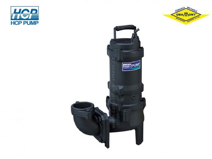 Těžké kalové čerpadlo na surové kaly HCP 80AFU22.2L WD 2,2kW 400V