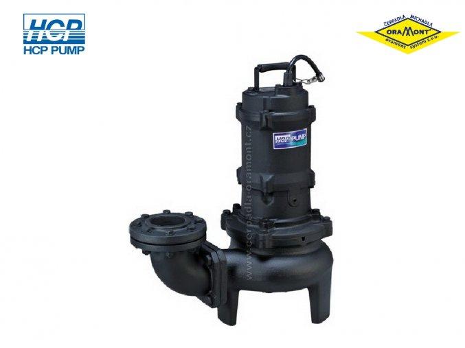 Těžké kalové čerpadlo na surové kaly HCP 80AFU25.5L WD 5,5kW 400V