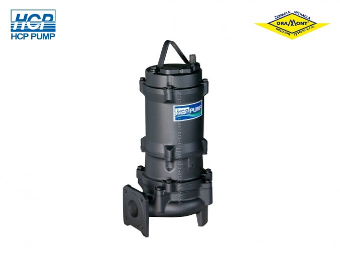 Těžké kalové čerpadlo na surové kaly HCP 80AFU211 WD 11kW 400V