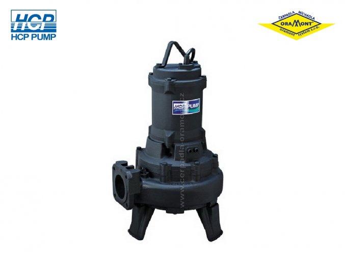 Těžké kalové čerpadlo na surové kaly HCP 100AFU45.5N WD 5,5kW 400V