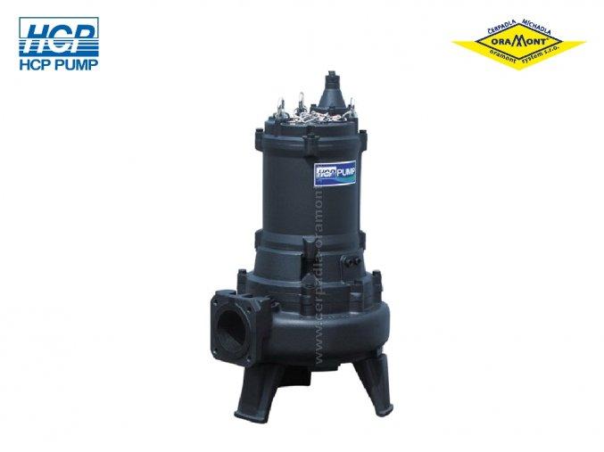 Těžké kalové čerpadlo na surové kaly HCP 100AFU47.5N WD 7,5kW 400V