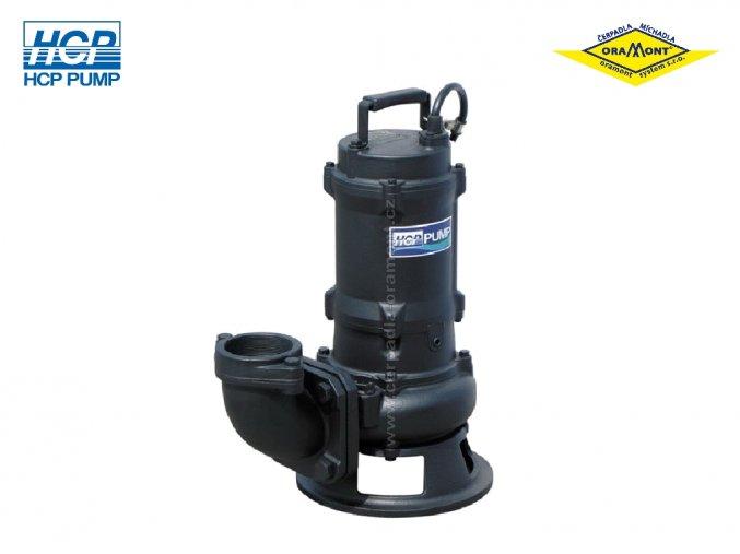 Těžké kalové čerpadlo na surové kaly HCP 80AFP21.5A WD 1,5kW 400V