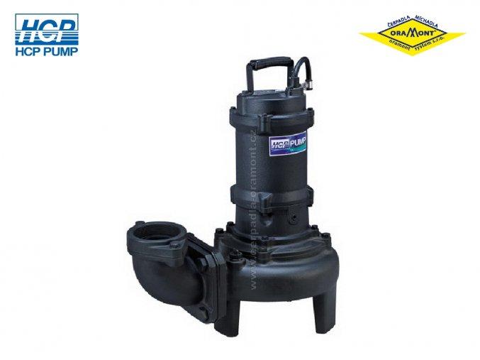 Těžké kalové čerpadlo na surové kaly HCP 80AFP41.5 WD 1,5kW 400V